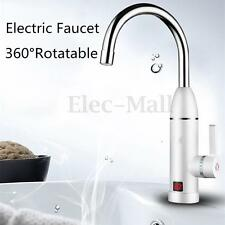 LED Display Instant Water Heater Electric Tankless Faucet Cold Hot Heating Tap