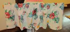Pioneer Woman *Country Garden*Kitchen Valance Curtain Handmade Floral Tablecloth