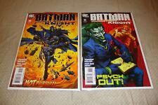 Batman Journey into Knight #10-11 (2005) DC Comic Lot of 2 VF Condition