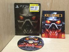 KillZone 3 PS3 Game Steelbook Boxed with Manual