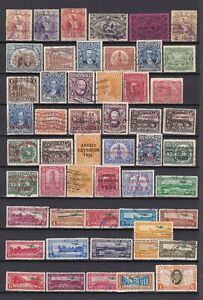 Guatemala 1886/1986 - Lot aus Mi.-Nr. 32-1263 gestempelt - 4 Bilder