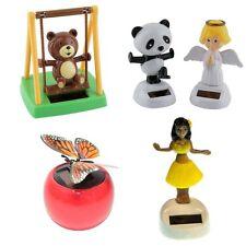 Solar Dancing Toys Flip Flap Flowers Panda Animals Bobble Toy Solar Dancer USA