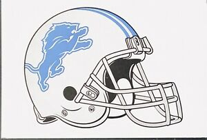 "DETROIT LIONS NFL FOOTBALL HELMET STICKER 3""x2.5"" SUPER BOWL MVP BRAND NEW"