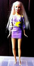 Vintage Mattel Barbie Doll. Wearing Moave  Mini Skirt NEW. Without box.