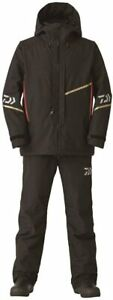 DAIWA DW-1820 Black Size L Winter Suit Gore-Tex Combi-Up Fishing from Japan