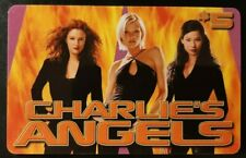 Charlie's Angels, Blockbuster Gift Card, No Value, Vintage 2001 Collectible  (M)