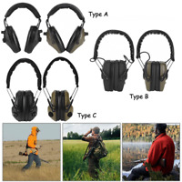 Ear Protection Earmuffs Electronic Headphones For Shooting Range Noise Canceling