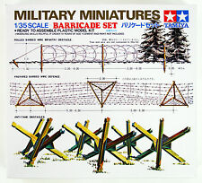Tamiya 35027 Military Miniatures Barricade Set 1/35 scale kit