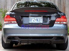BMW E82 CSL STYLE REAL CARBON FIBER TRUNK 2008-2011 Coupe 2D 128i 135i 1M B038