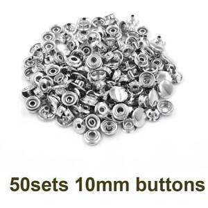 Metal Snap Buttons Fastener Children's Clothing Jacket Jeans Belts Jacket Clasps
