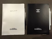 LOT 2 Culture CHANEL X Vogue Black White A4 Document Folder Stationery File Set