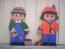 DRESS UP DARLINGS * CUTE KIDS Fall Outfit Yard Art