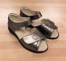Womens Cosyfeet Skip Bronze Sandals Shoes Extra Roomy for Swollen Feet 4.5 UK