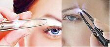 Tweezers with an led light.Perfect for eyebrows,splinters ingrown hairs etc