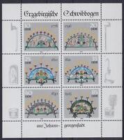 DDR Mi Nr. 3057 - 3062 ** Kleinbogen, KB Schwibbogen 1986, postfrisch, MNH