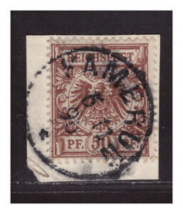 Kamerun Vorläufer V 50 d ° Kamerun 5.11.96  Luxus Briefstück