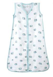 Aden and Anais jungle jam-elephant-classic sleeping bag 1.0TOG-12-18months SALE