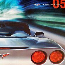 CORVETTE 2005 - DEALER BOOK BROCHURE + DVD - CHEVROLET C6 - LS2 Z51 COUPE - NEW