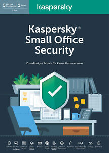 Kaspersky Small Office Security 1 Server + 5 Desktops/PC + 5 Mobilgeräte