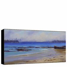 Medium (up to 36in.) Blue Original Art Paintings