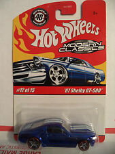 HOT WHEELS MODERN CLASSICS '67 SHELBY GT-500 BLUE *NEW*