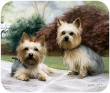 MOUSE PAD--YORKIES--Yorkshire Terrier on Path **Beautiful**