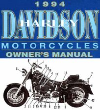 1994 Harley-Davidson All Models Owners Manual -Flstf-Fxlr-Flhtc-Fltc-Xl h