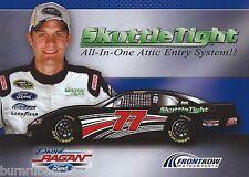 "2013 DAVID RAGAN ""SKUTTLE TIGHT"" #77 LATE MODEL  NASCAR POSTCARD"