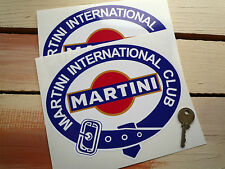 MARTINI Int. 200mm Club racing sticker Porsche Lancia