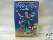 Peter Pan (VHS) Mary Martin Clam Shell Case 1989