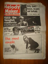 MELODY MAKER 1979 MAR 3 ROXY MUSIC DEBBIE HARRY