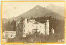 Autriche, Österreich, Sankt Gilgen, Winkl, Schloss Hüttenstein, château, ca.1870
