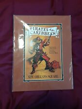 Art Print Disney Pirates Of The Caribbean New Orleans Square Ride Art Poster