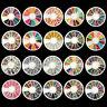 3D Nail Art Rhinestones Glitters Acrylic Tips Decoration Manicure Wheel Case