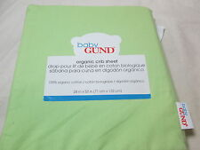 New Baby Gund Blue Organic Cotton Crib Sheet 28x52 NIP