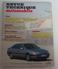 Revue technique automobile RTA 555 Renault safrane 4 & 6 cyl essence