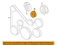 MITSUBISHI OEM 01-06 Montero-Serpentine Drive Belt Idler Pulley MD368210