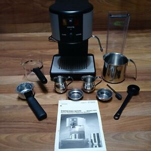 Krups Novo Espresso Cappuccino Latte Machine #964, WITH EXTRAS, ALL ORIGINAL EUC