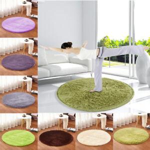 1PC 30/40/60/80cm Circular Circle Round Circles Floor Small Rugs Mat Home Decor