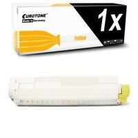 Eurotone Toner Yellow for Oki C-831-CDTN C-831-DN C-831-N C-841-N C-841-CDTN