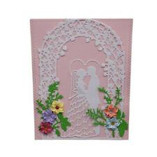 DIY Metal Cutting Dies Stencil for Scrapbooking Card Craft Bridal Couple Door HI