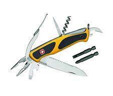 Wenger Taschenmmesser Ranger 174 Rostfrei  Teilsägezahnung, 6 Werkzeuge  Bits