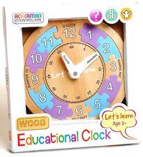 Ackerman Reloj Educativo Internacional