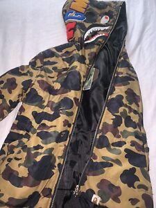 Bape Puffer Coat Jacket Full Zip