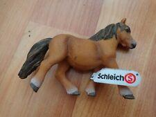 "5"" SCHLEICH RETIRED 2012 SHETLAND PONY MARE HORSE TOY FIGURE 13750"