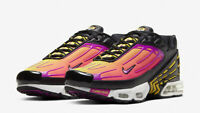 NIKE AIR MAX PLUS TN 3 - UK 6.5, 10 & 11 - BLACK/HYPER VOILET (CJ9684-003)