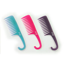 HI LIFT SHOWER COMB Detangling Hair Comb. Large Curved Handle - Assorted Colours