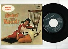 "COLLECTOR*Wanda Jackson* Rockin' with Wanda!* ORIGINAL French 7"" EP* EAP 1.20464"