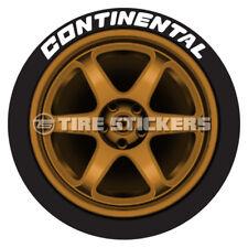 """CONTINENTAL TIRE TYRE Premium Windshield Banner Vinyl Decal Sticker 33x6/"""""""