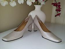 Worthington Womens Beige Leather Classic Pumps Heels Sz 7 M